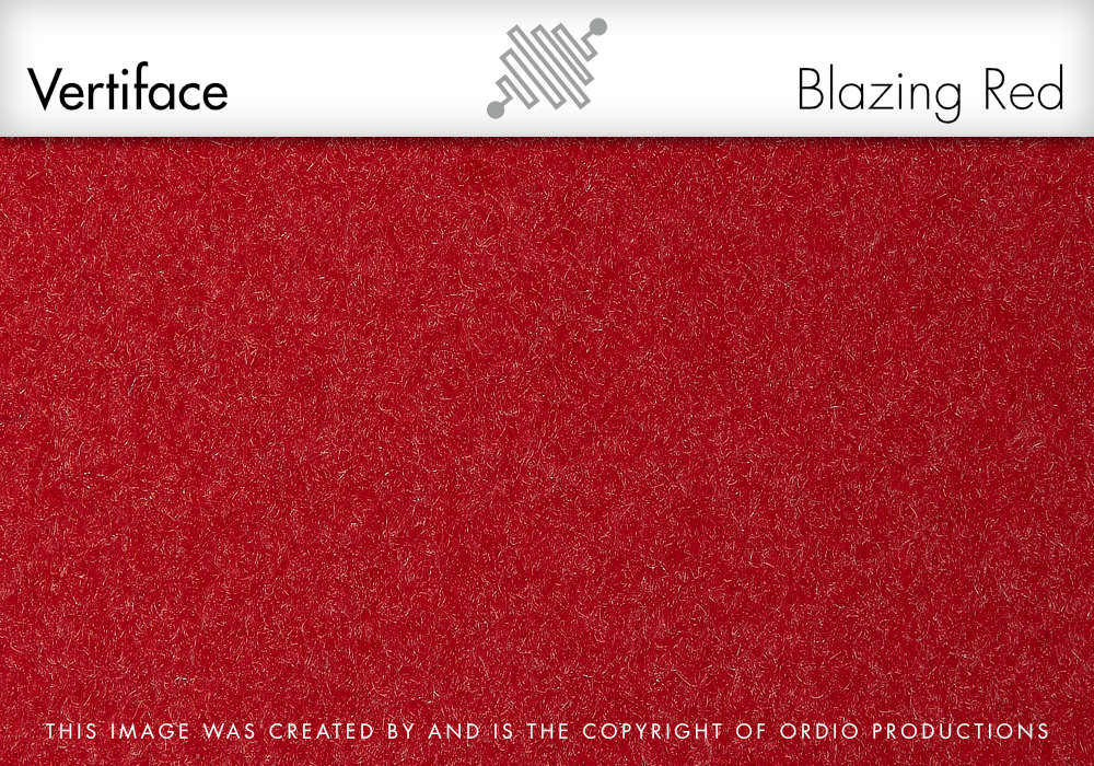Autex Vertiface Fabric | Blazing Red