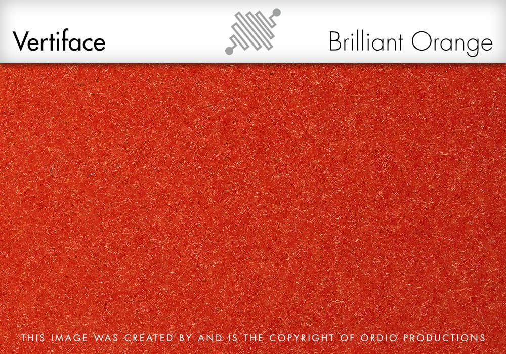 Autex Vertiface Fabric | Brilliant Orange