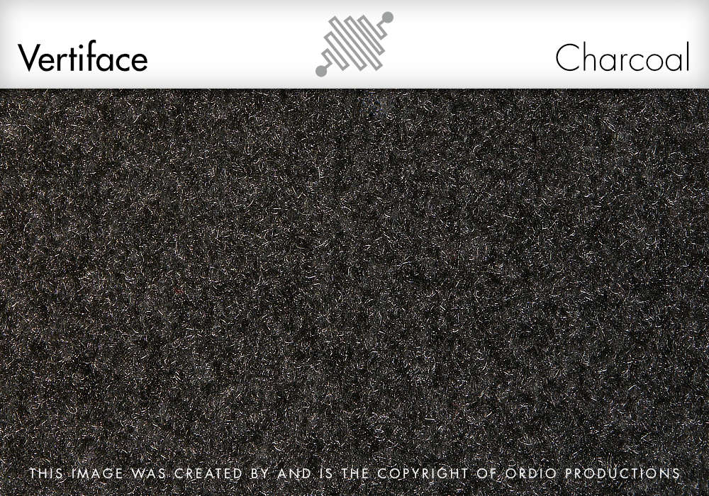 Autex Vertiface Fabric | Charcoal