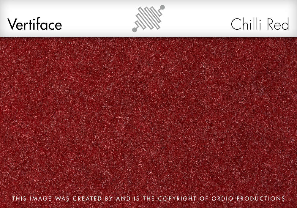 Autex Vertiface Fabric | Chilli Red