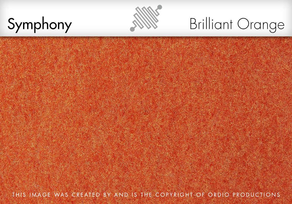 Autex Symphony Fabric | Brilliant Orange