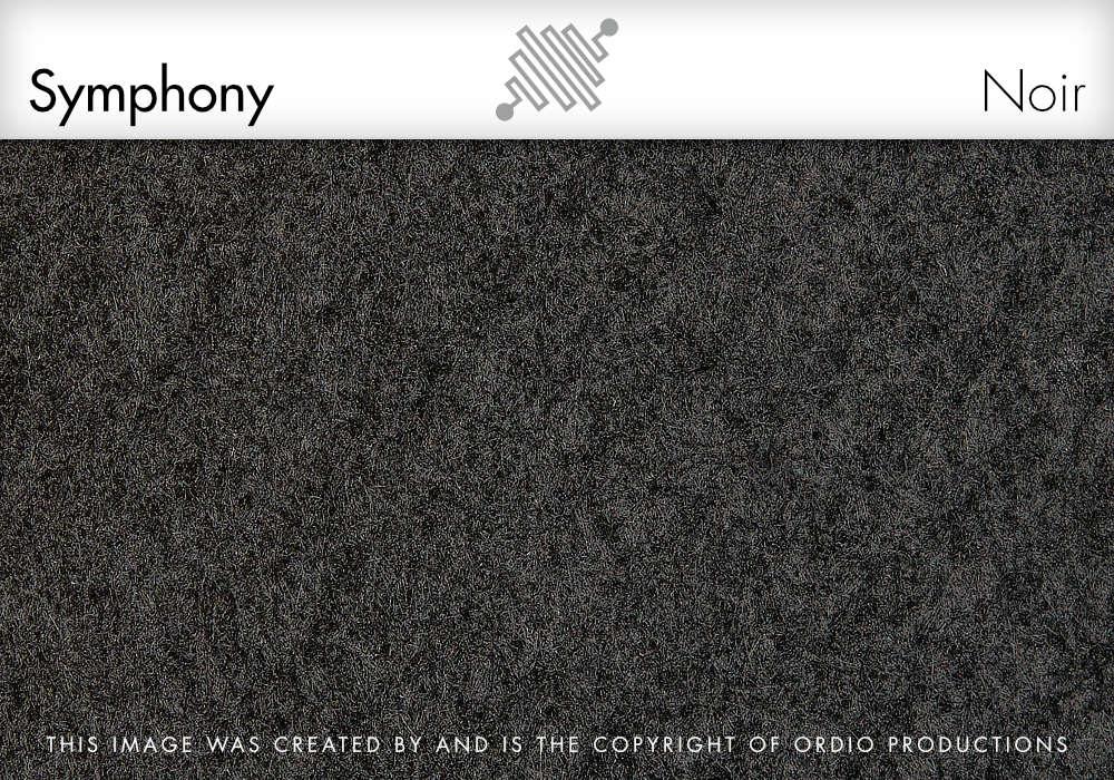 Autex Symphony Fabric | Noir