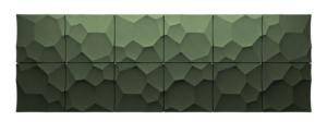 Autex Quietspace 3D-Tiles S-5.28 | Avocado