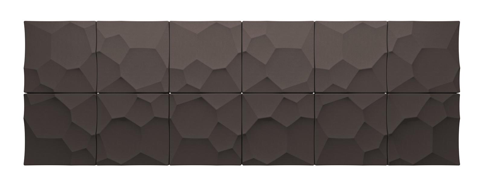 Autex Quietspace 3D-Tiles S-5.28 | Bark