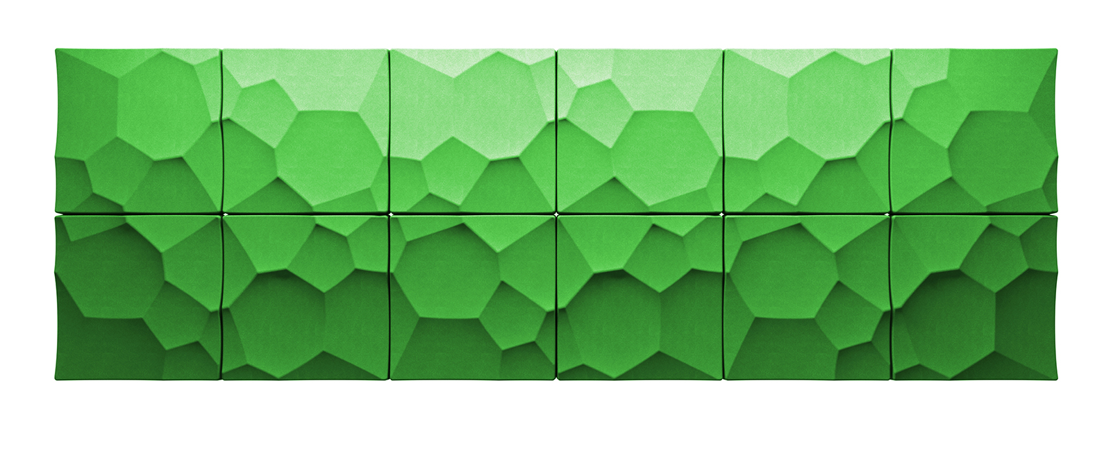 Autex Quietspace 3D-Tiles S-5.28 | Granny Smith