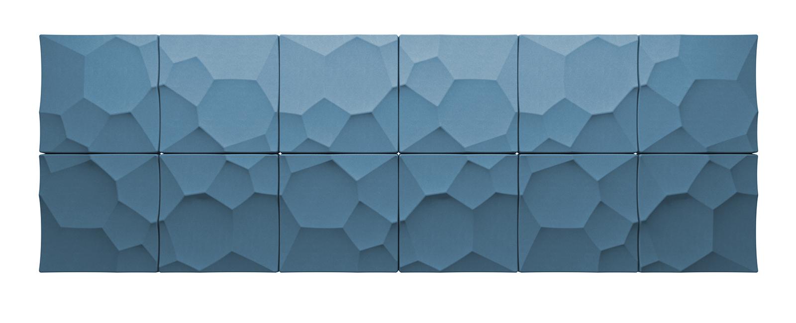 Autex Quietspace 3D-Tiles S-5.28 | Stonewash