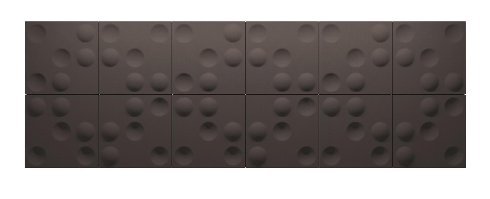 Autex Quietspace 3D Tiles S-5.34   Bark