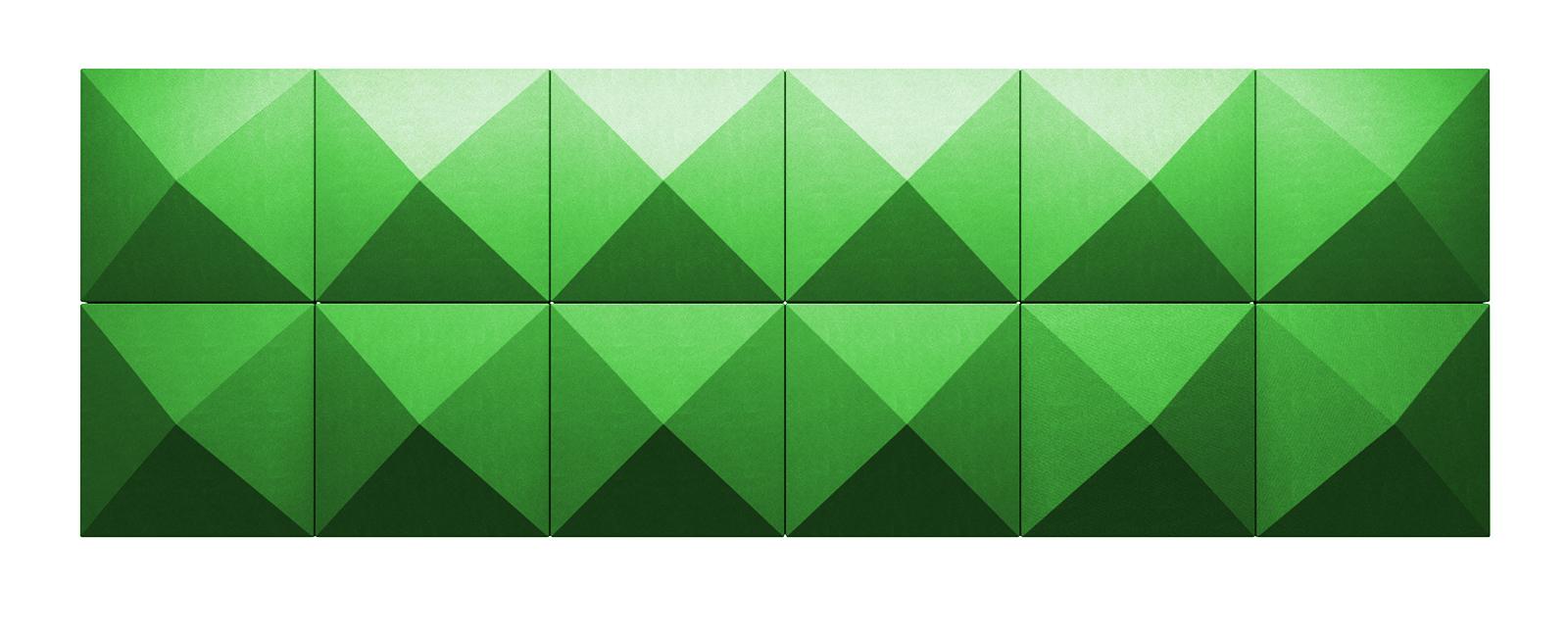 Autex Quietspace 3D Tiles S-5.37 | Granny Smith
