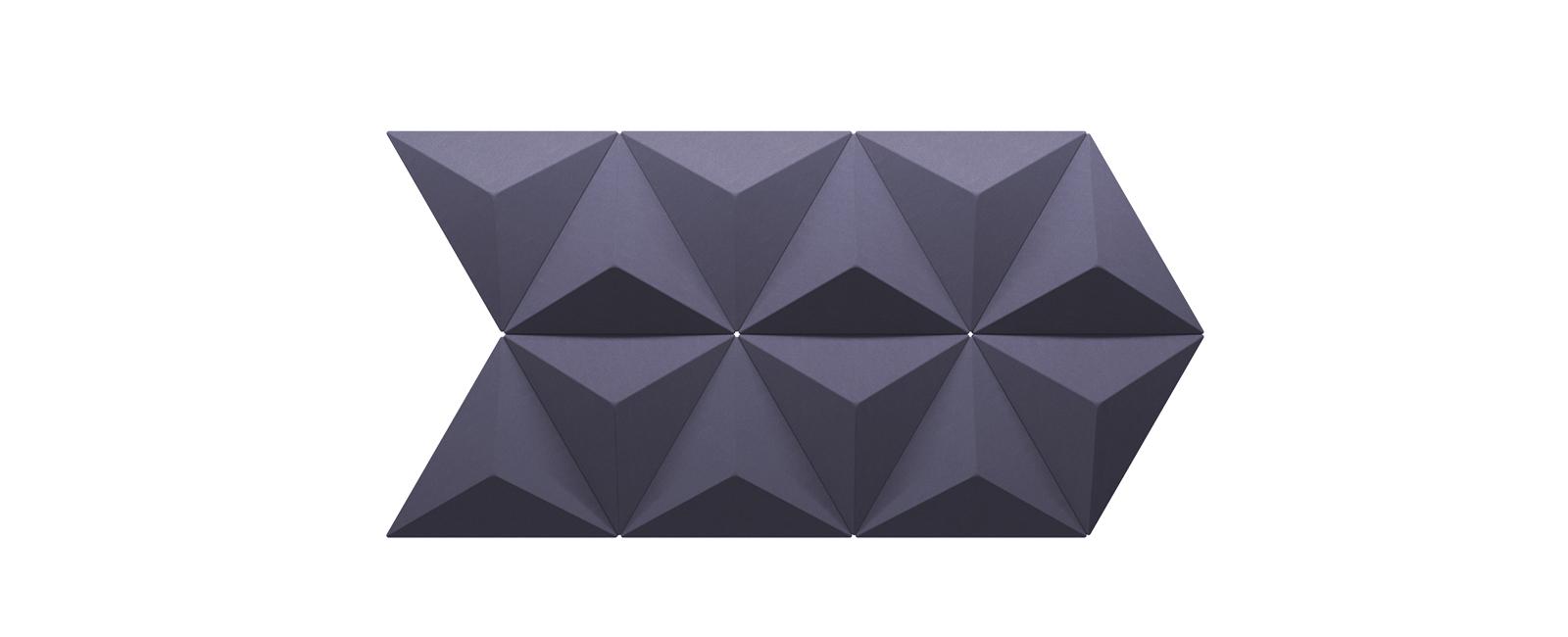 Autex Quietspace 3D-Tiles S-5.46   Blush