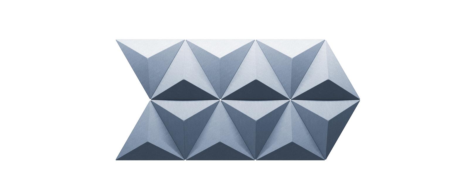 Autex Quietspace 3D-Tiles S-5.46   Porcelain