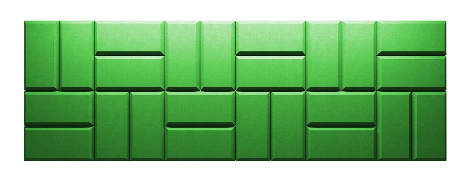 Autex Quietspace 3D Tiles S-5.50 | Granny Smith
