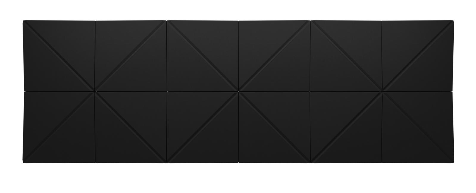 Autex Quietspace 3D Tiles S-5.53 | Noir