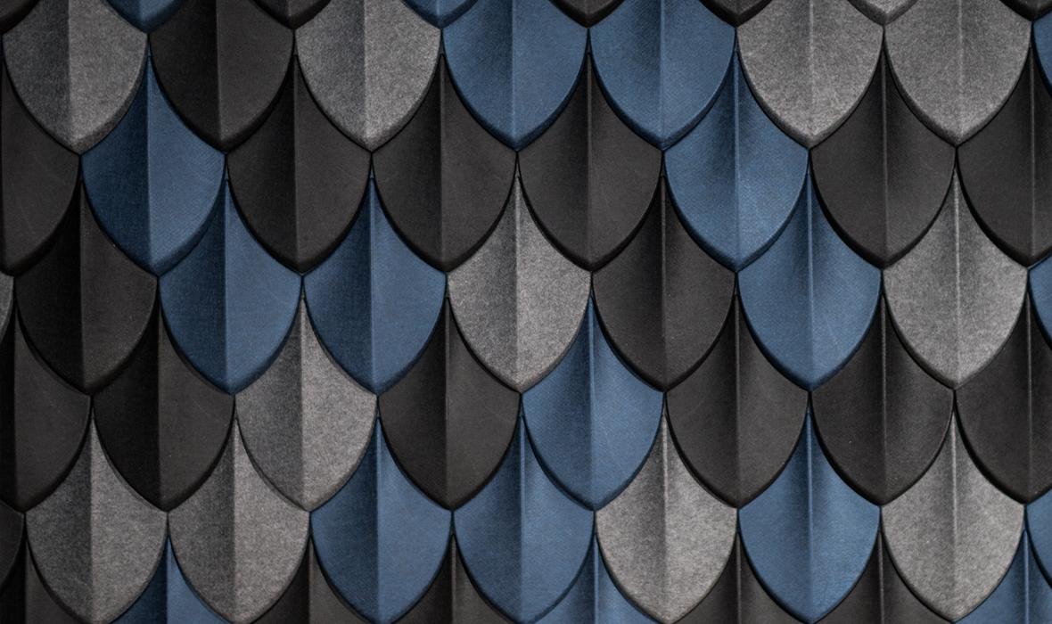 Autex Quietspace 3D Acoustic Tiles Sample