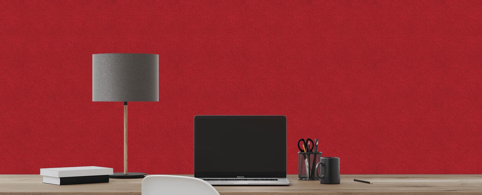 Autex Quietspace Panel | Blazing Red